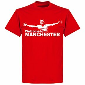 Ronaldo Welcome to Manchester KIDS T-shirt - Red