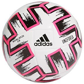 Adidas EURO 2020 Uniforia ClubBall - White (Size 5)