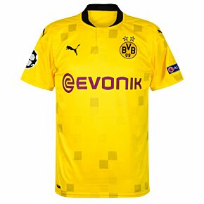 20-21 Borussia Dortmund Cup Shirt + C/L Starball / Respect Patches