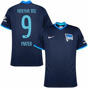 21-22 BSC Hertha Berlin Away Shirt + Piątek 9 (Official Printing)