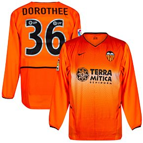 Nike Valencia CF 2002-2003 Away Jersey L/S - NEW Condition (w/tags) - Player Issue - DOROTHEE #36 - Size Large