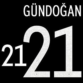 Gündogan 21 (Official Printing) - 20-21 Germany Away