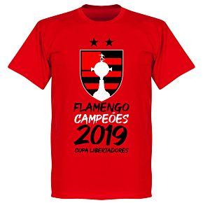 Flamengo 2019 Copa Libertadores Champions T-Shirt - Red
