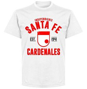 Independiente Santa Fe Established T-Shirt - White