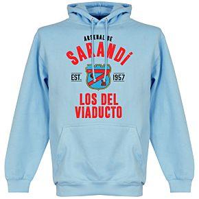 Arsenal Sarandi Established Hoodie - Sky