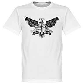 Beckham Tattoo Tee - White