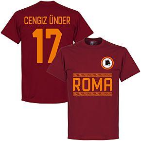 AS Roma Cengiz Ünder 17 Team Tee - Red