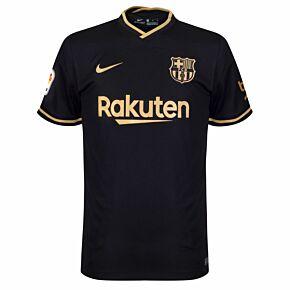 20-21 Barcelona Away Shirt - Kids