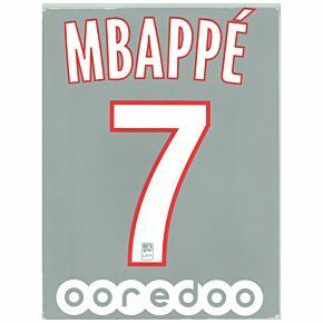 Mbappe 7 + Ooredoo Sponsor