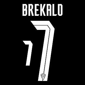 Brekalo 7 (Official Printing) - 20-21 Croatia Away