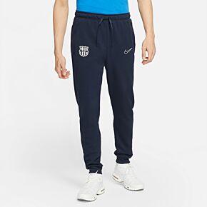 21-22 Barcelona Travel Fleece Pants - Navy