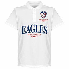 USA Rugby Polo Shirt - White