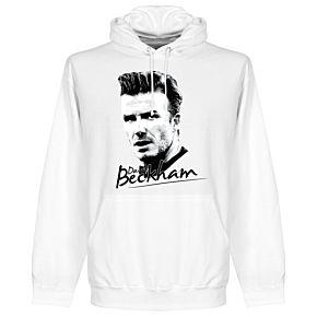 Beckham Silhouette Hoodie - White
