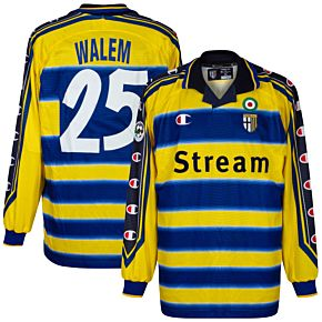 99-00 Parma Home L/S Jersey +Walem 25