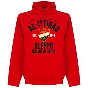 Al-Ittihad Established Hoodie - Red