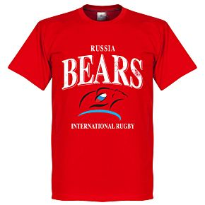 Russia Rugby Tee - Red