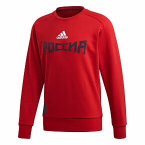 Adidas Russia Seasonal Special Sweat Top - Red