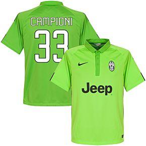 Juventus 3rd Campioni 33 Jersey 2014 / 2015 (Fan Style Printing)