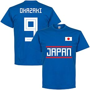 Japan Okazaki 9 Team Tee - Royal