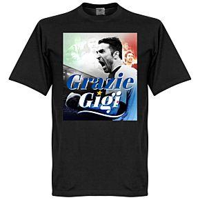 Grazie Gigi Buffon Tee - Black