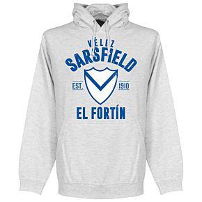 Velez Sarsfield Established Hoodie - Ash
