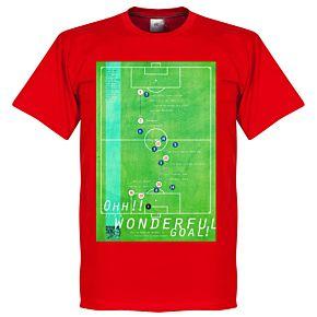 Pennarello Michael Owen 1998 Classic Goal Tee - Red