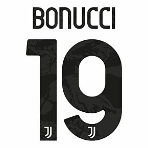 Bonucci 19 (Official Printing) - 20-22 Juventus Home