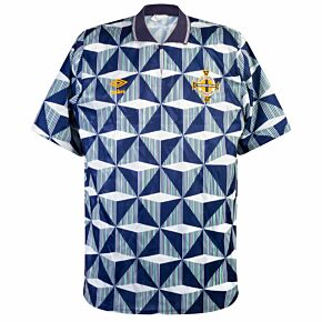 Umbro Northern Ireland 1990-1992 Away Shirt - USED Condition (Great) - Size L