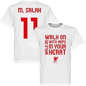 Liverpool Salah Walk-on Tee - White