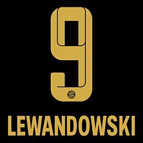 Lewandowski 9 (Official Printing) - 21-22 Bayern Munich Away