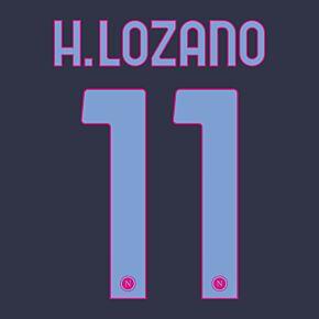 H.Lozano 11 (Official Printing) - 20-21 Napoli 3rd