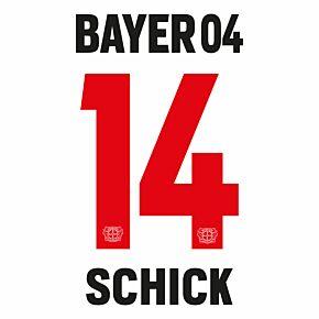 Schick 14 (Official Printing) - 21-22 Bayer Leverkusen Away