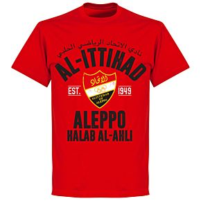 Al-Ittihad Established T-Shirt - Red