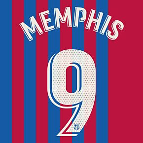 Memphis 9 (Official Printing) - 21-22 Barcelona Home