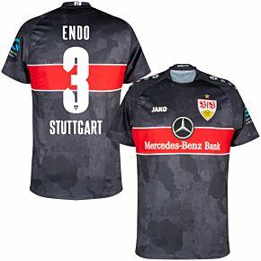 21-22 VfB Stuttgart 3rd Shirt + Endo 3 (Official Printing)