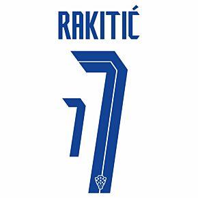 Rakitić 7 (Official Printing) - 20-21 Croatia Home