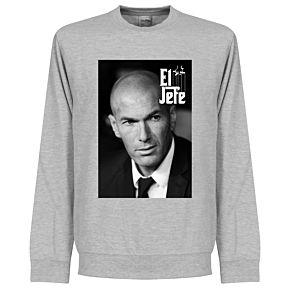 Zidane El Jefe Sweatshirt - Grey