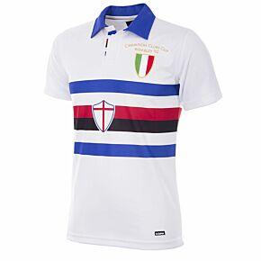 91-92 Sampdoria Away Retro Shirt