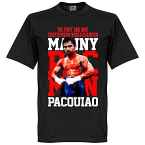 Manny Pacquiao Boxing Legend Tee - Black