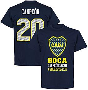 Boca Campeon 20 T-shirt - Navy