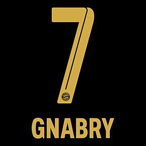 Gnabry 7 (Official Printing) - 21-22 Bayern Munich Away