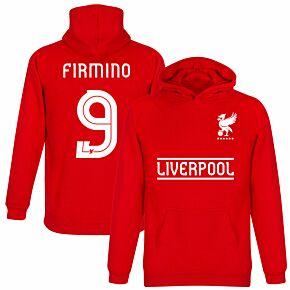 Liverpool Firmino 9 Team KIDS Hoodie - Red