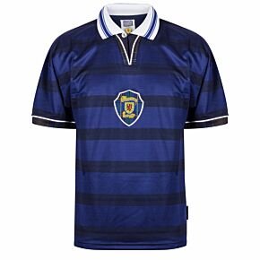1998 Scotland Home World Cup Finals Retro shirt