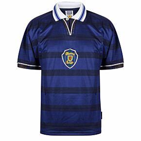 1998 Scotland Home World Cup Finals Retro shirt