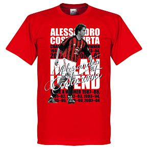 Alessandro Costacurta Legend Tee - Red