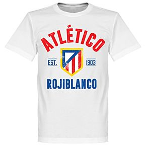 Atletico Madrid Established Tee - White