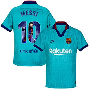 Nike Barcelona KIDS 3rd Messi 10 Jersey 2019-2020 (Gallery Style Printing)