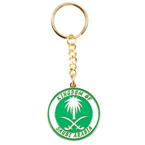 Saudi Arabia Enamel Keyring
