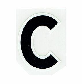 20-21 Premier League Official Adult Small c Letter - Black