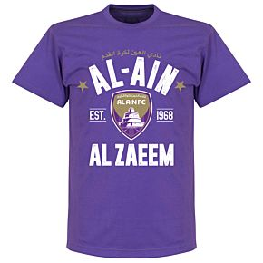 Al-Ain Established T-Shirt - Purple